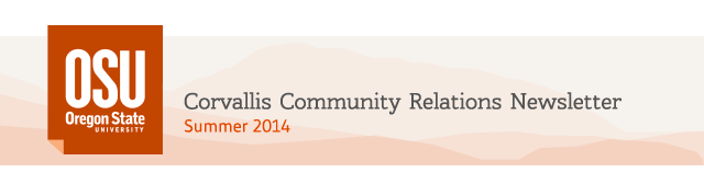 Corvallis Community Relations Newsletter, Summer 2014