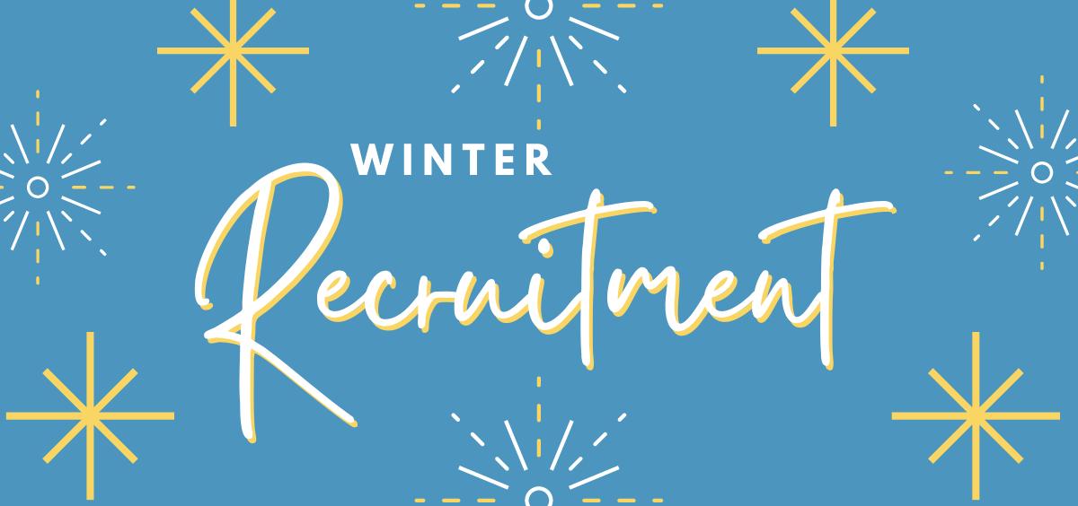 Winter Recruitment