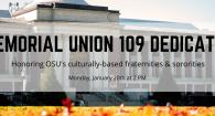 Memorial Union 109 Dedication