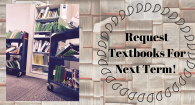 Request Textbooks for next term!